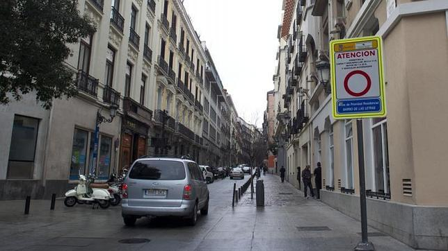 Multas «trampa» en zonas exclusivas para residentes en Madrid