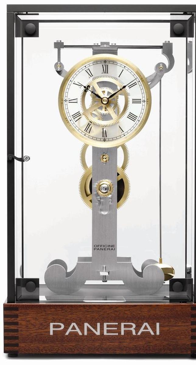 El reloj de pndulo de Galileo vuelve a la vida en el saln de la