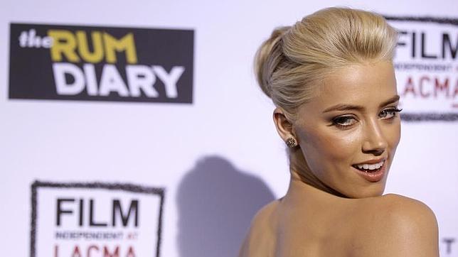 Amber Heard: la futura esposa de Johnny Depp