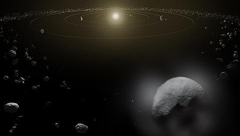 El asteroide Ceres dispara chorros de vapor de agua al espacio