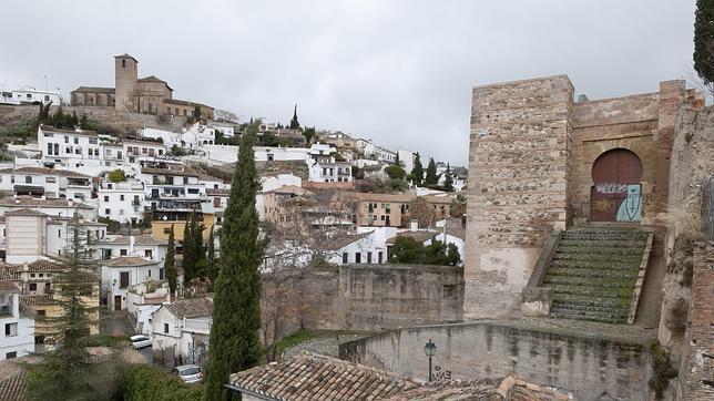 El barrio del Albaicín de Granada