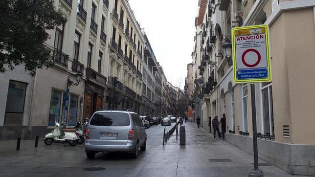 Un juez anula una multa trampa en una zona restringida for Hoteles en la calle prado de madrid