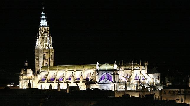 Iluminaicón artística de la Catedral de Toledo