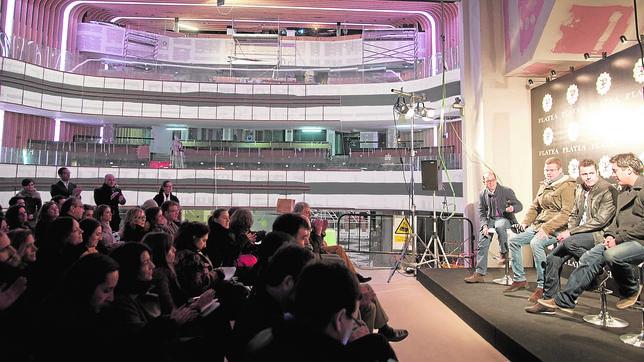 Platea, el gran espacio gastronómico de Madrid, abre en mayo