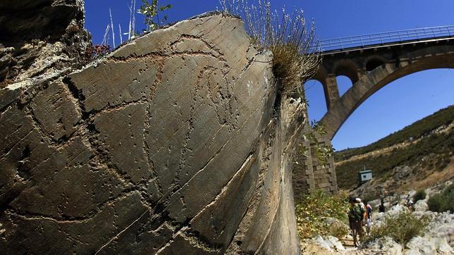 Yacimiento de arte rupestre de Siega Verde, en Salamanca
