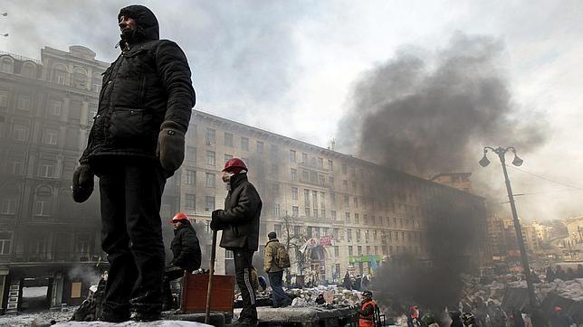 La revuelta se extiende por toda Ucrania