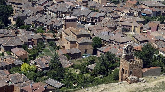 Vista aérea de Ayllón