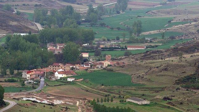 Vista aérea de Medinaceli