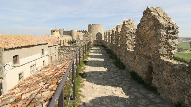 Imagen de la muralla de Urueña