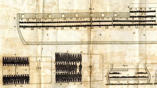 Así viajaban los esclavos a las colonias británicas en el Henry Marie, un barco negrero