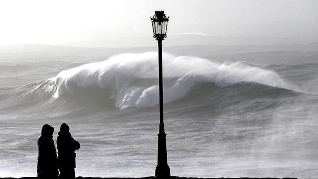 En La Mariña lucense se esperan vientos de más de 100 kilómetros por hora