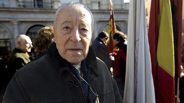Muere Blas Piñar, líder histórico de la extrema derecha española