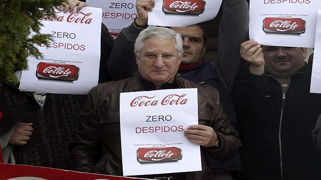 CC.OO. denuncia la «ilegalidad» del ERE de Coca-Cola en la primera reunión con la empresa