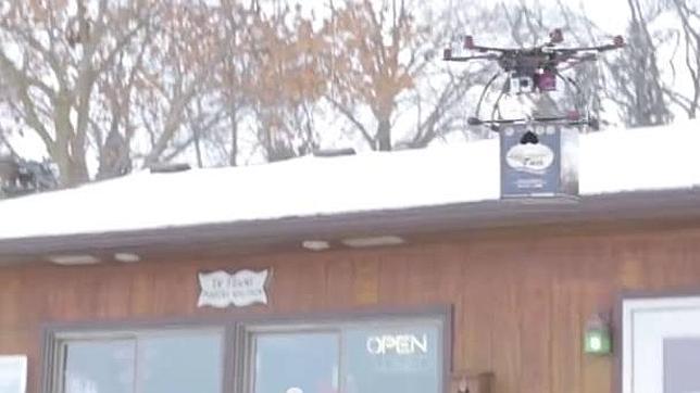 Prueban el uso de «drones» para repartir cerveza en Estados Unidos