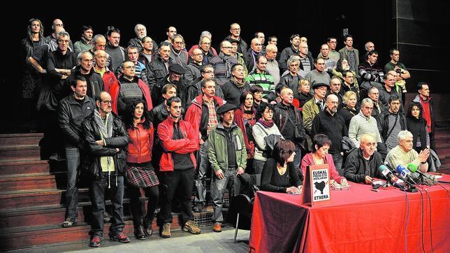 La foto de Durango ocultó el plante a ETA de los liberados por Estrasburgo
