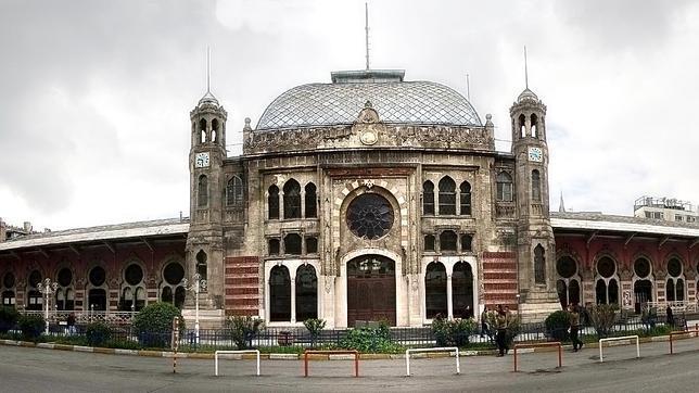 Estación de ferrocarril de Sirkeci, en la zona europea de Estambul