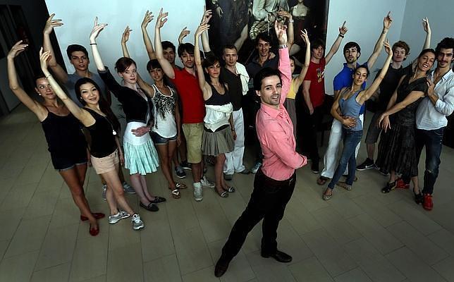 Ángel Corella, con su  compañía Barcelona Ballet
