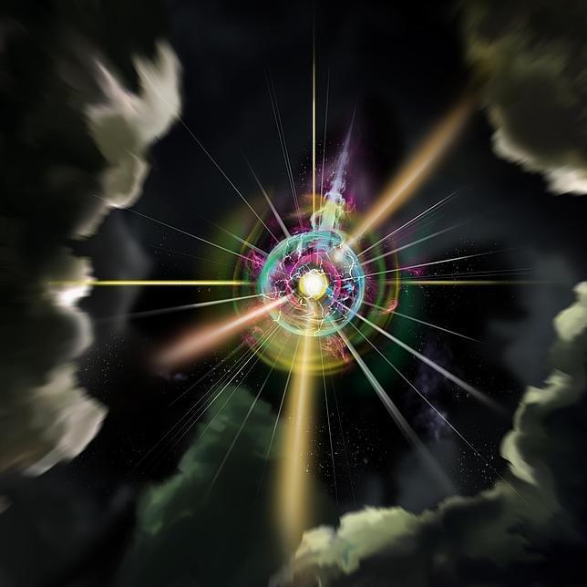 Resultado de imagen de En el momento del quiebre. de la simetría de gran unificación, se engendraron cantidades de monopolos magnéticos