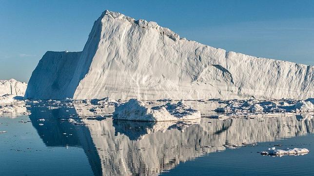 El frente de un glaciar de Groenlandia retrocede 17 kilómetros al año