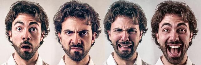 La cara solo expresa cuatro emociones básicas