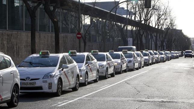 Caos de taxis en Atocha