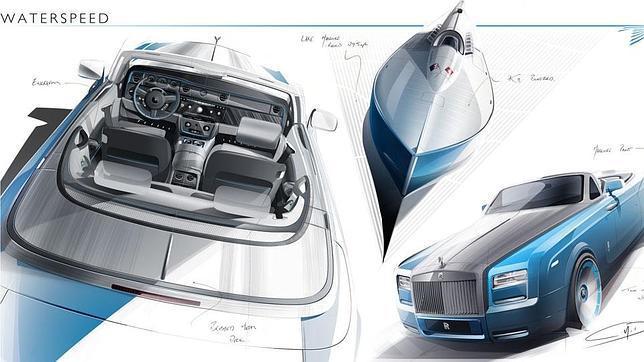 Rolls-Royce desvela Waterspeed Collection