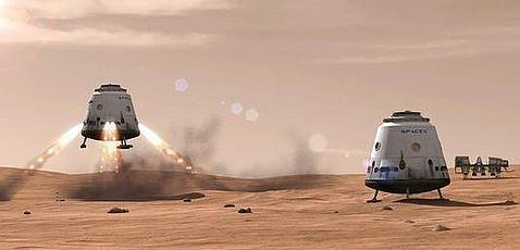 Un cohete privado podrá llevar humanos a Marte «en diez años»