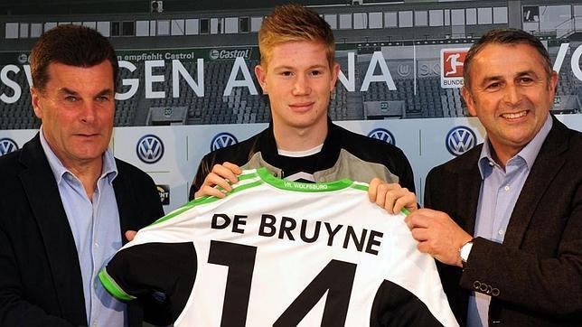 El belga De Bruyne ha firmado con el Wolfsburgo alemán