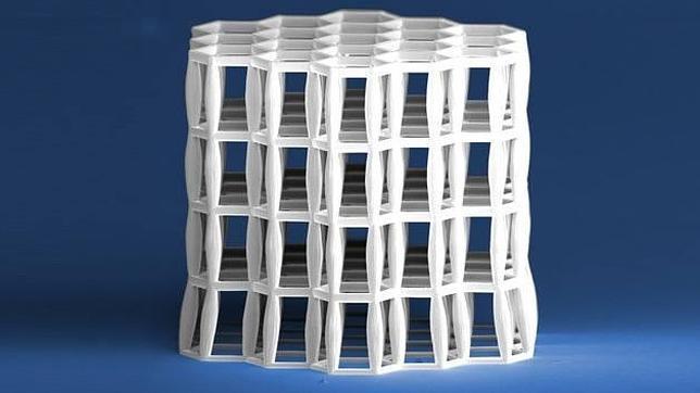 Crean un material más sólido que el acero y más ligero que el agua