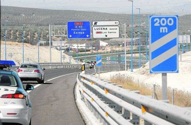 La Junta «olvida» los tramos de la Autovía del Olivar por Córdoba