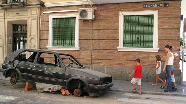 ¿Cómo se deteriora el coche «durmiendo» en la calle?