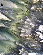 ¿Hay ríos en las colinas de Marte?