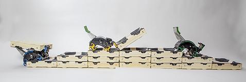 Robots inspirados en termitas pueden construir solos, sin planos y sin ayuda