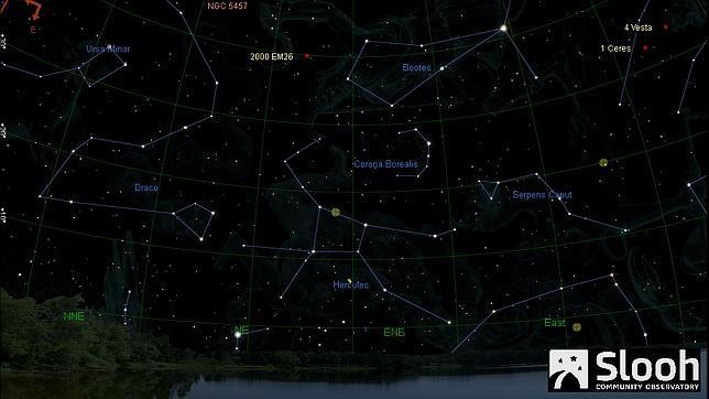 Un gran asteroide rozará la Tierra la madrugada del 18 de febrero