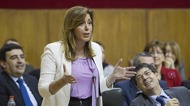 Susana Díaz no se plantea adelantar a 2014 las elecciones en Andalucía