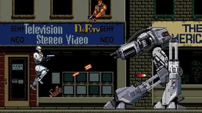 La historia de Robocop en los videojuegos