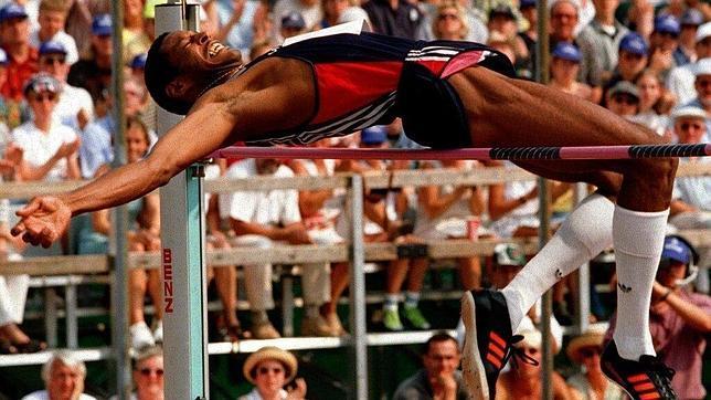 Javier Sotomayor, plusmarquista mundial de salto de altura