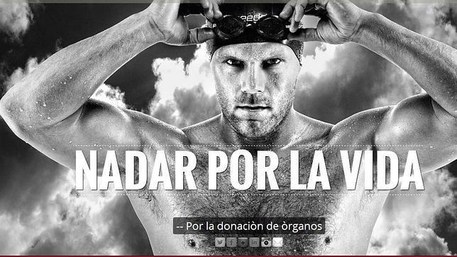 El creador del proyecto «Nadar por la vida» prepara su próximo reto en Torrevieja