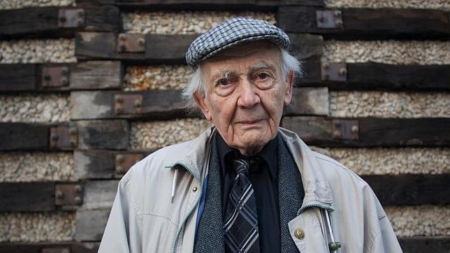El sociólogo polaco Zygmunt Bauman, a comienzos de febrero en Madrid