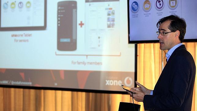 La operadora británica Vodafone ha presentado hoy en Barcelona su iniciativa Vodavone xone