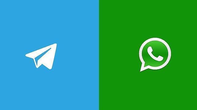 Caída mundial de WhatsApp, éxito mundial de Telegram y Line