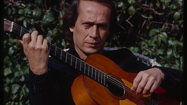 Paco de Lucía y su guitarrero