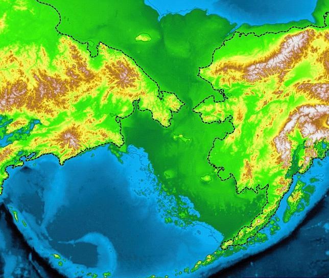 Asiáticos pasaron 10.000 años en el puente de tierra de Bering antes de llegar a América
