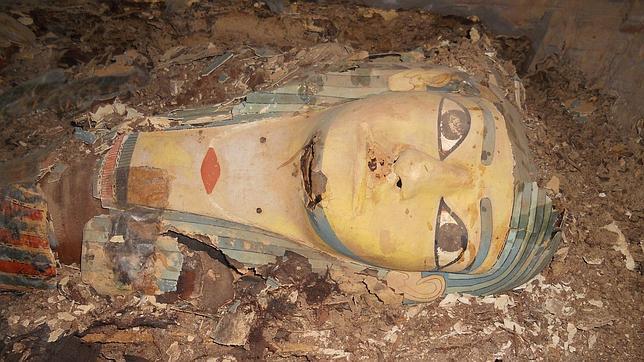 Un equipo de arqueólogos españoles descubre los restos más antiguos de un gobernador de Asuán