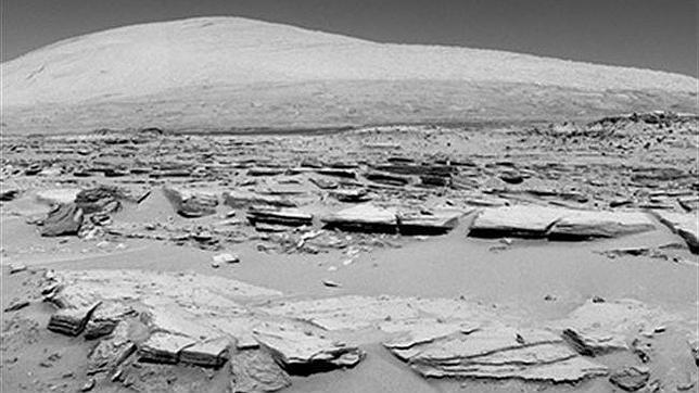 El Curiosity se acerca a su destino final en el monte Sharp