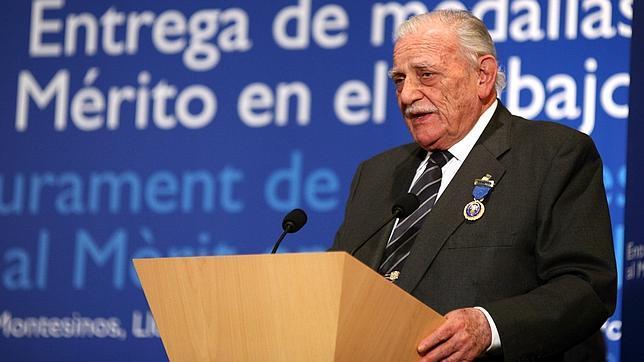Ricardo Fornesa, un hombre de La Caixa de toda la vida, fallece a los 82 años