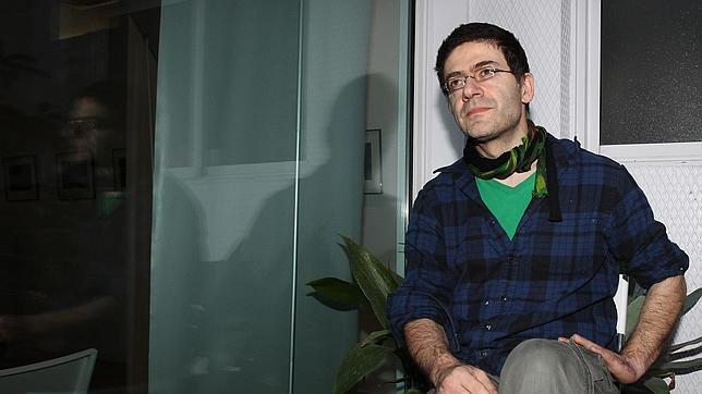 Mouawad, el viernes en Barcelona durante la presentación del libro
