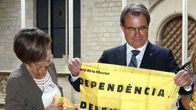 La Asamblea Nacional de Cataluña promueve entre los Mossos la causa del soberanismo