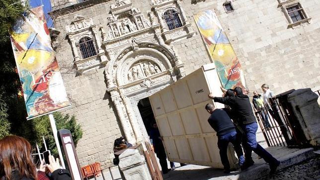 Llegan a Toledo los cinco grecos del Museo del Prado para la muestra del Santa Cruz