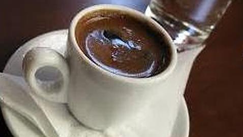 El café griego... para después de los funerales